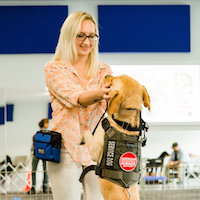 Program Pairs Air Force Veteran and Rescue Dog