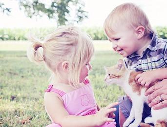 Kids Pets Vegetarian
