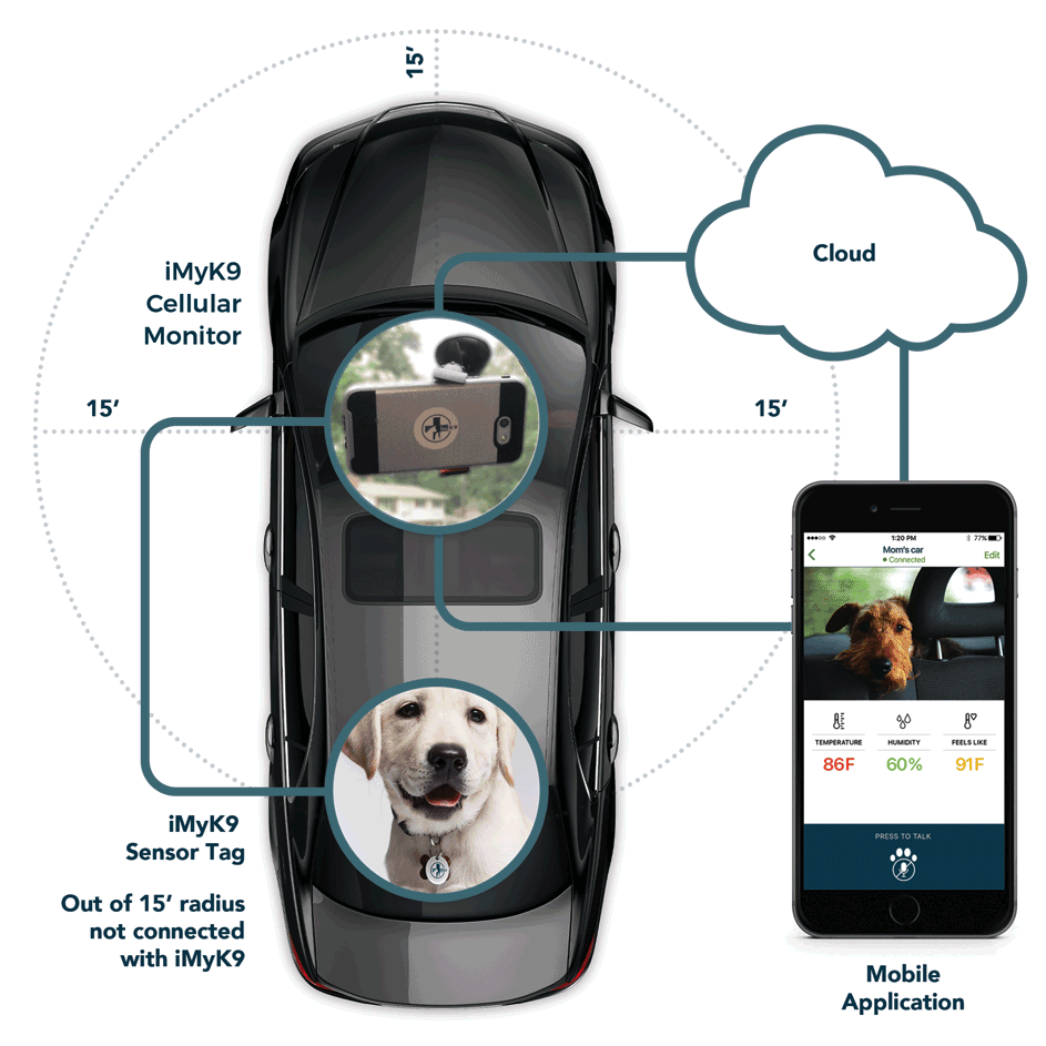 New Device Offers Real Protection for Pets in Hot Cars